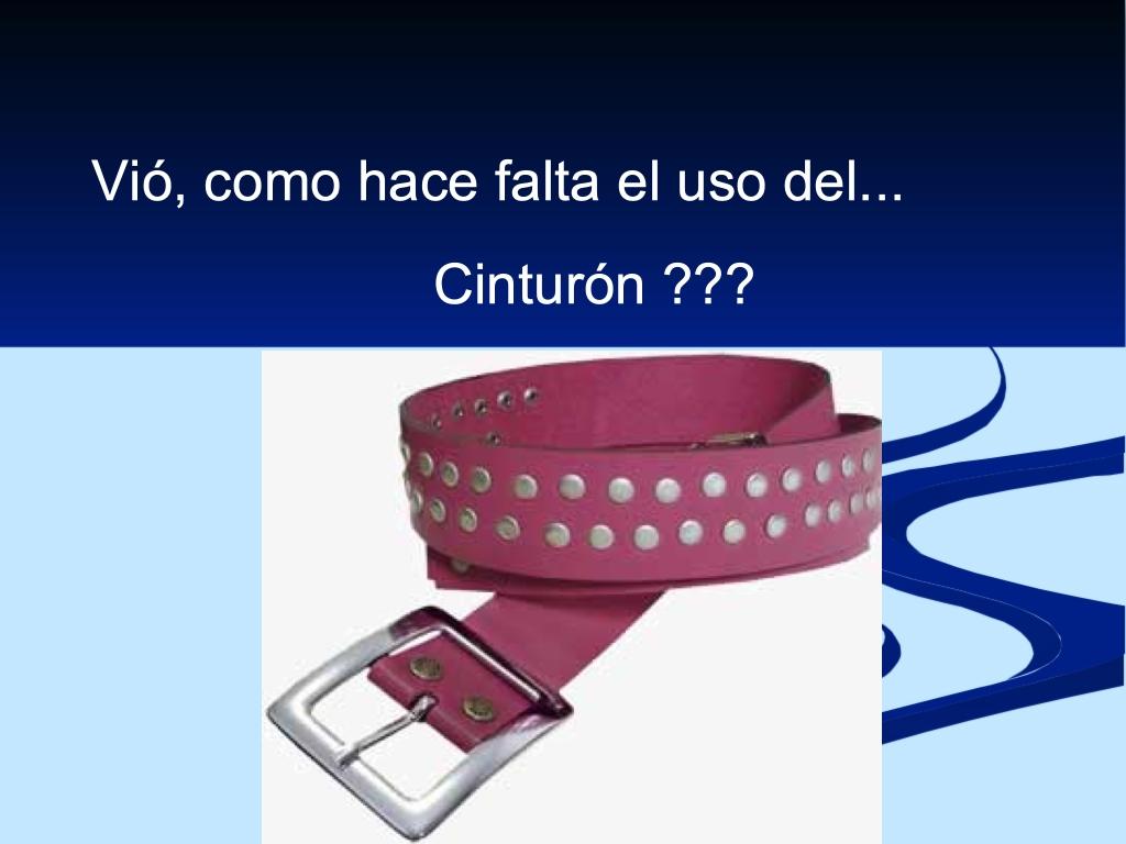 Cinturón rosa con tachuelas para pantalón